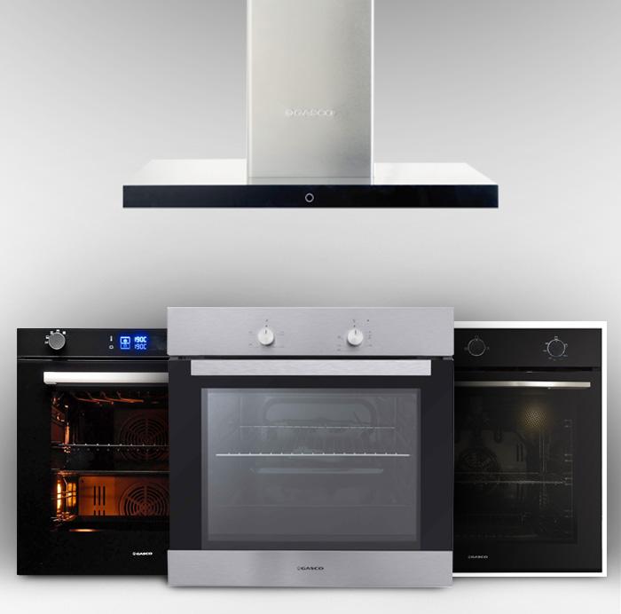 electrodomésticos en cocina moderna