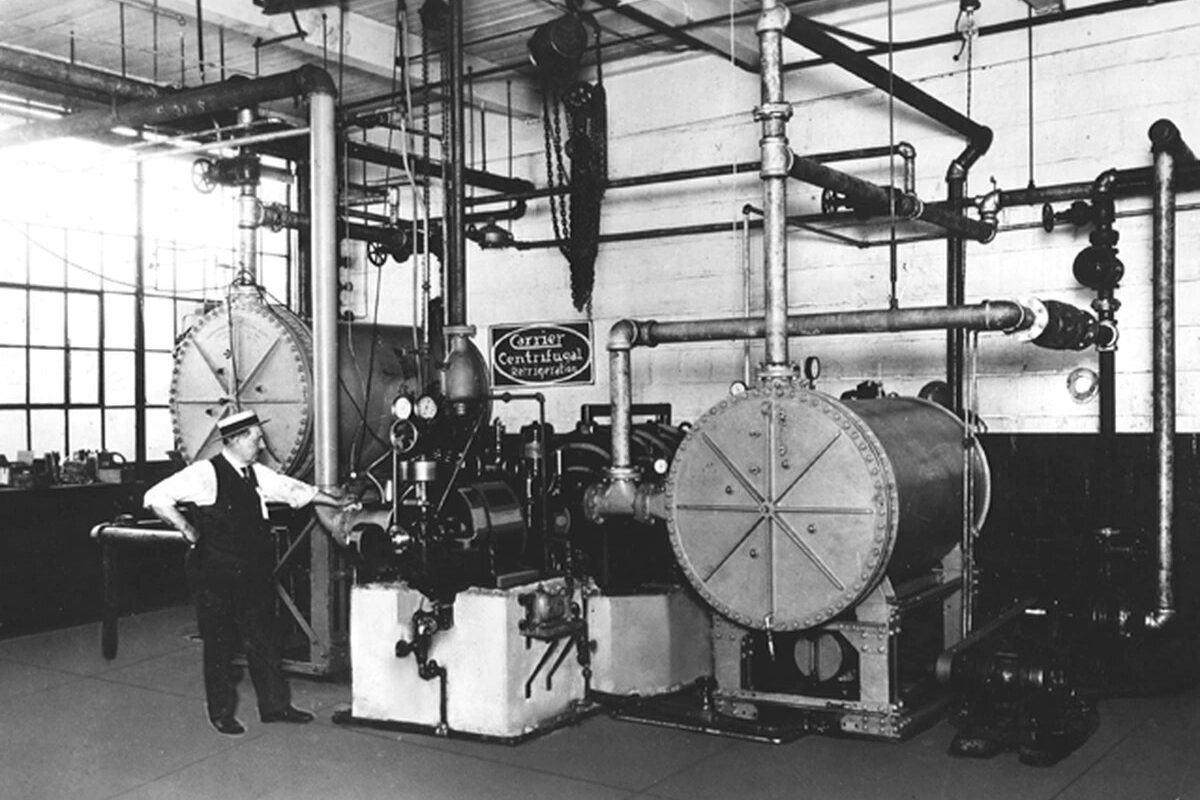Historia y evolucion del aire acondicionado