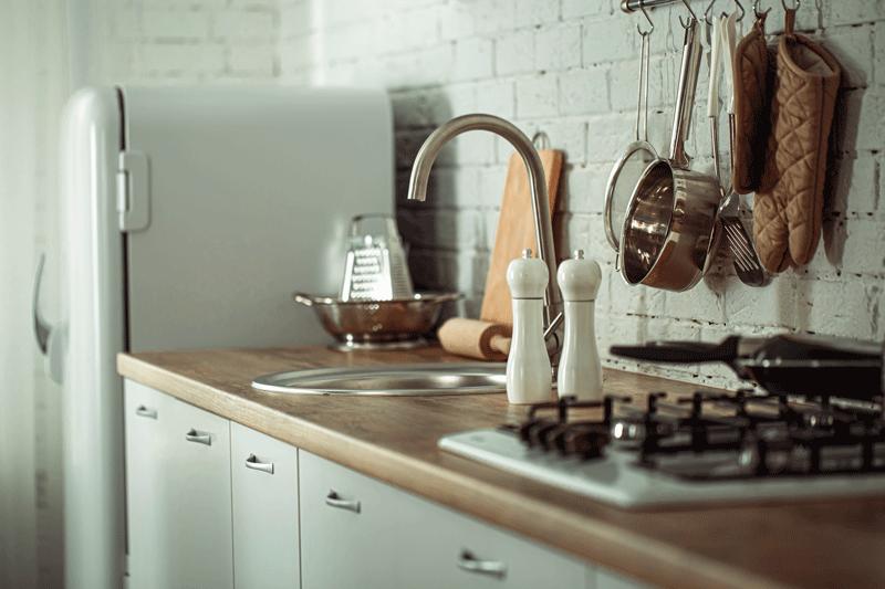 cocina moderna espacio pequeño