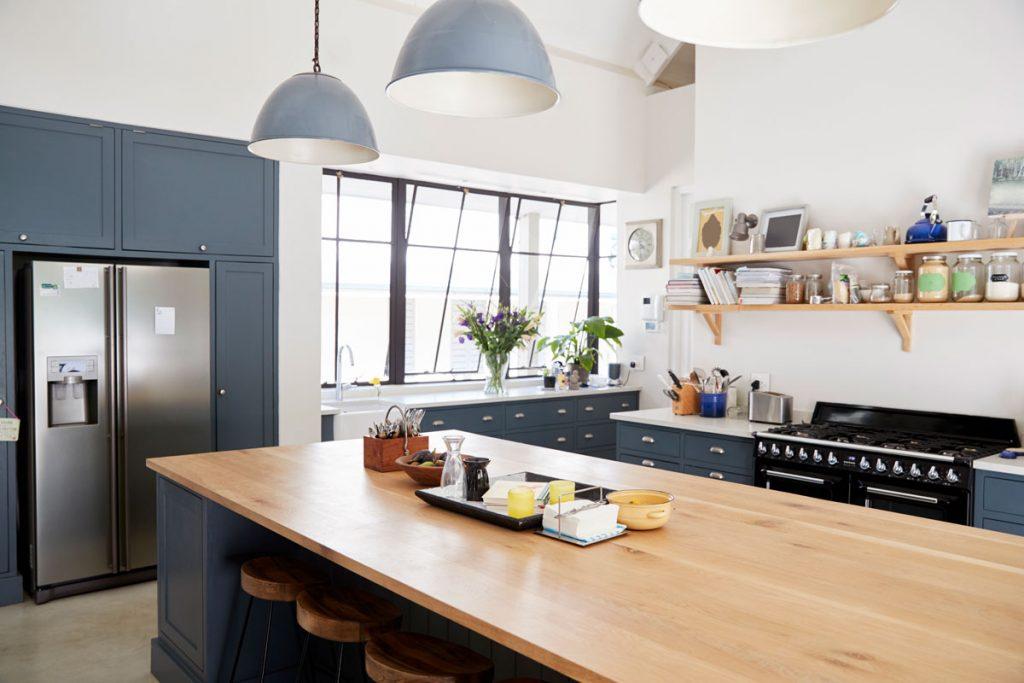 espacio para fregadero de cocina